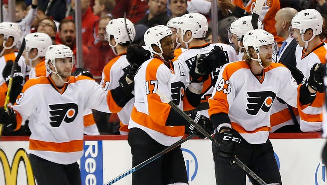 The Flyers sit five points out of a playoff spot as a pivotal month in their season begins.