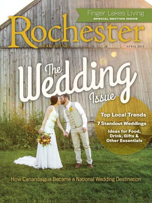 The Wedding Issue of Rochester Magazine.