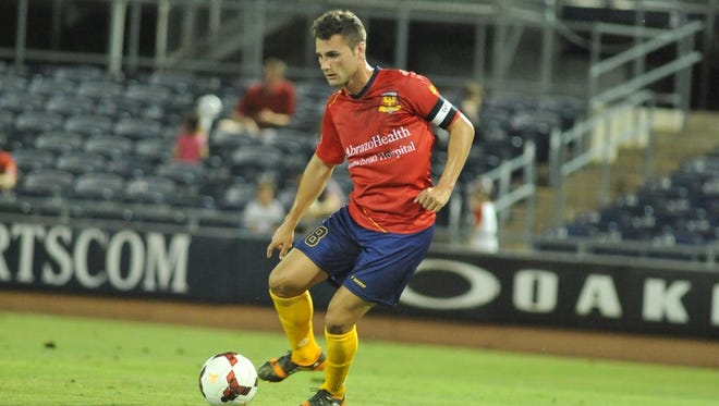For Arizona United SC captain and midfielder Matt Kassel, Saturday's match at Pittsburgh could be his final match in an Arizona United uniform.