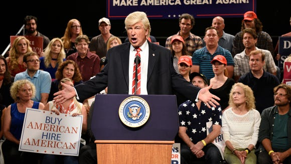 "Alec Baldwin as President Donald Trump on ""Saturday"