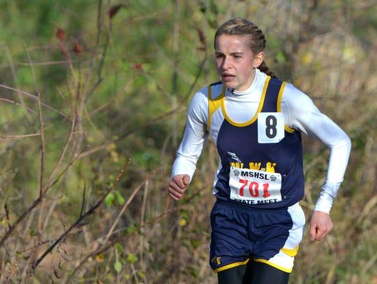 Eden Valley-Watkins/Kimball Area junior Anna Donnay