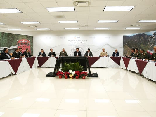 Juarez security reunion