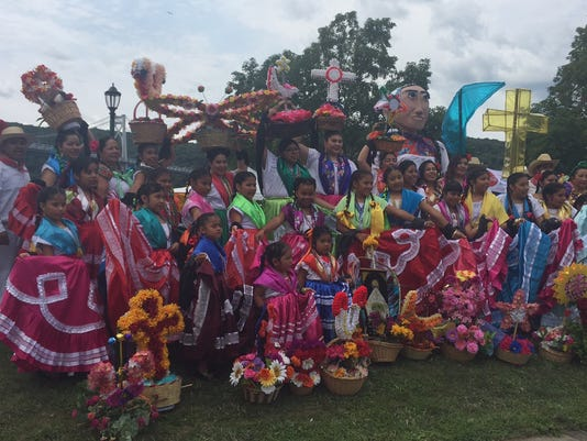 mexican festival brings oaxacan culture to the riverfront