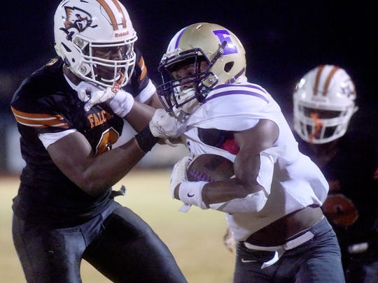 Northwood vs. Warren Easton football at Jerry Burton Stadium in Blanchard on Friday, Nov. 23, 2018 (Val Horvath Davidson/Special to The Times).