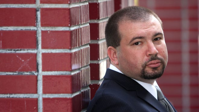 Jeffrey Deskovic, shown in this file photo, spent 16 years in prison after being wrongfully convicted in the 1989 killing of a Peekskill High School classmate. He has since become an advocate for the wrongfully convicted and recently began appearing in a weekly segment on a cable television show.