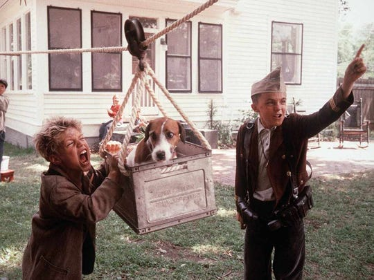 "Frankie Muniz (right) stars as Willie in ""My Dog Skip"" (2000)."