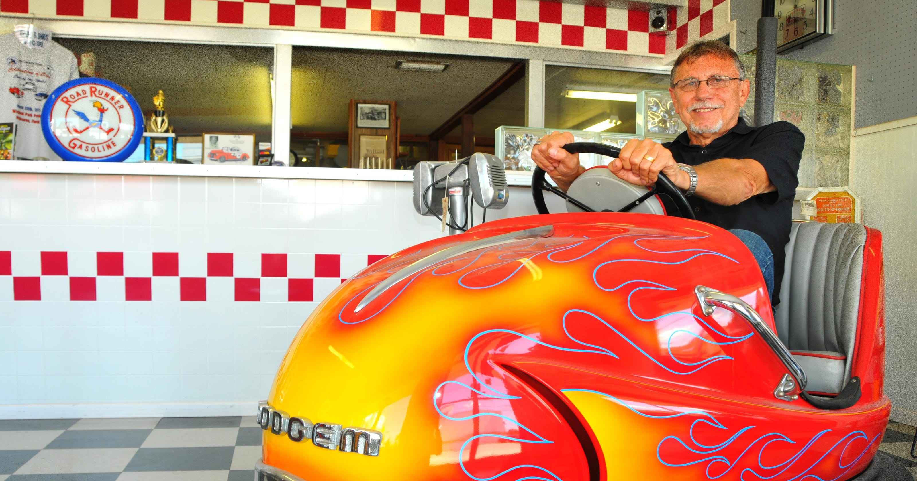 Cocoa shop restores vintage gas pumps and more
