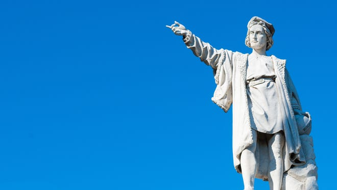 Cristopher Columbus and those who followed brought with them diseases that killed huge numbers of the native population.