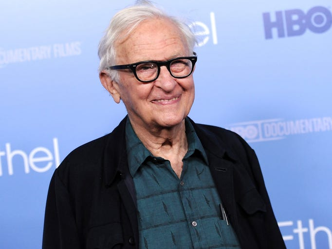 Filmmaker Albert Maysles attends the premiere of the