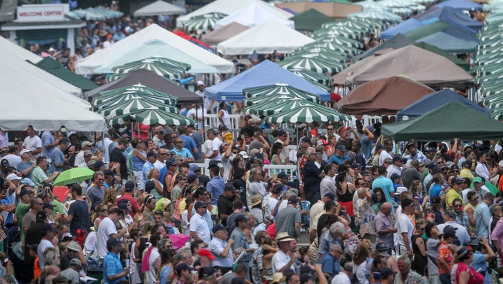 Monmouth Park fans will no longer be able to bring