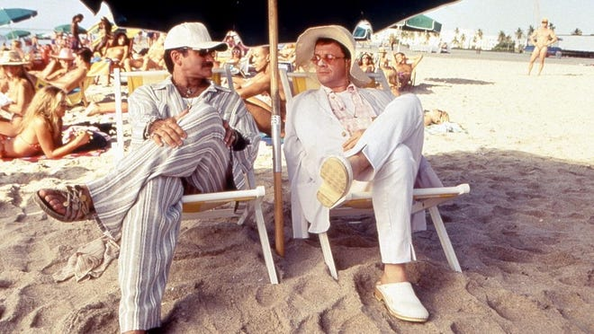 """The film, """"The Birdcage,"""" starring Robin Williams and Nathan Lane will be shown April 22 at UPAC in Kingston."""