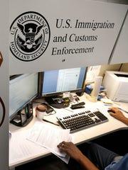 U.S. Immigration & Customs Enforcement.