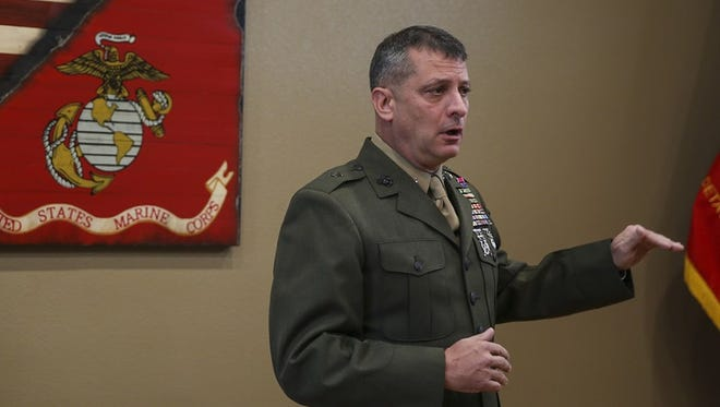 Brig. Gen. Kurt Stein was fired from his position at the Marine Corps Monday for publicly ridiculing allegations of sexual harassment.