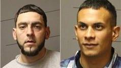 Raul Albuquerque, 31, of Danbury, Conn., left, and John G. Lewis Jr., 28, of Newtown, Conn.