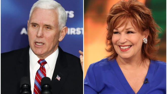 'View' co-host Joy Behar has apologized privately to Vice President Mike Pence and publicly to Christians for a remark equating the belief that Jesus talks to people with mental illness.