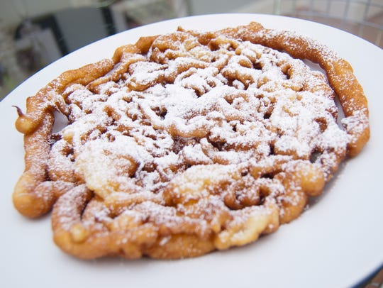 Funnel cake is just one of the foods that makes the
