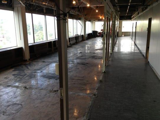 A look inside the fourth floor of the former Kodak