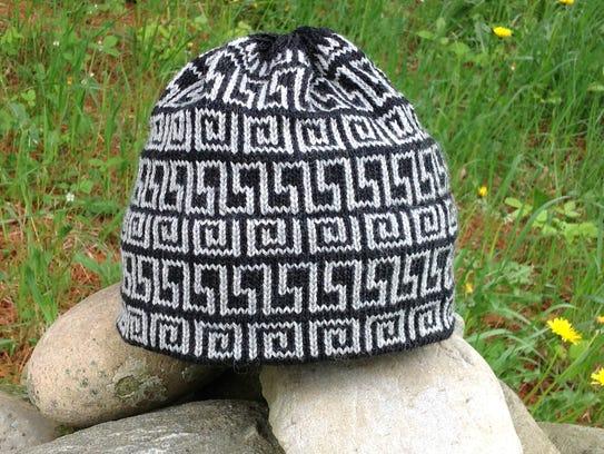 A KD Hill Knitwear hat