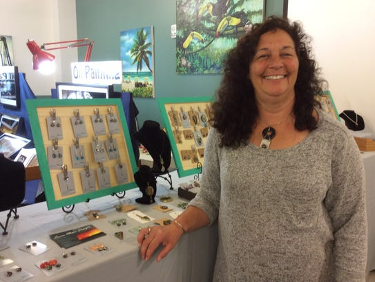Laura Ellison, of Princess Anne, Maryland, is a jewelry
