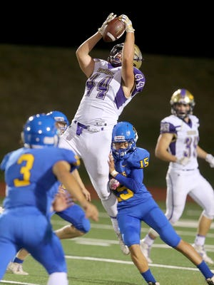 North Kitsap's Aidan Allsop and the Vikings beat Bremerton 33-7 during the 2017 season. The Vikings and Knights face each other Friday in Poulsbo for the Kitsap Sun's Week 4 Game of the Week.