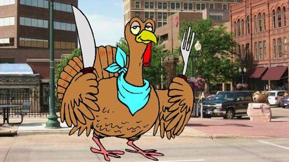 Turkey Day in Sioux Falls.