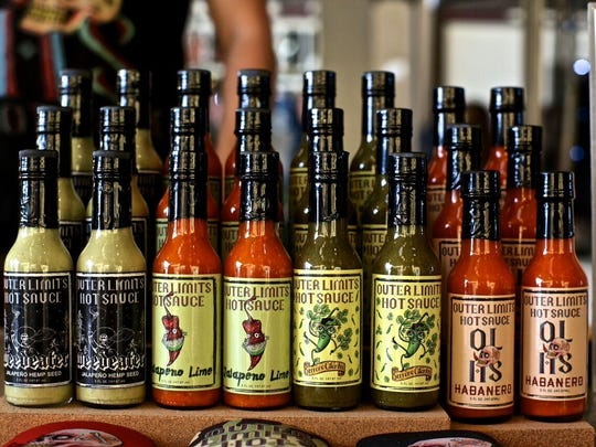 Outer Limits Hot Sauce will sell its four varieties during at the Dec. 19 market.