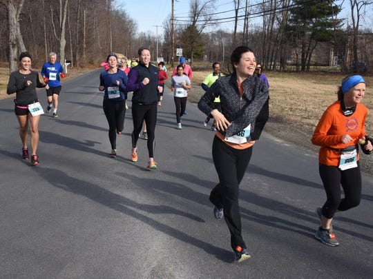 Runners take part in the Ed Erichson Memorial Races