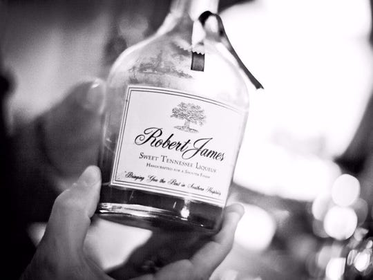 Norton created the RobertJames liqueur in his kitchen.