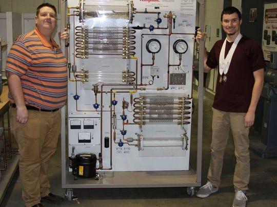 St. George's featured SkillsUSA student Tyler Lord