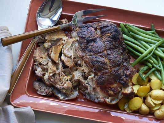 Food Deadline Roasted Pork Shoulder
