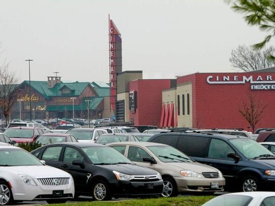 Cabela's and the Cinemark movie theater are the most recent additions to the Christiana Mall's growing landscape.