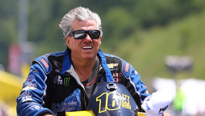 """John Force says his 2007 crash in Texas """"probably saved my life."""""""