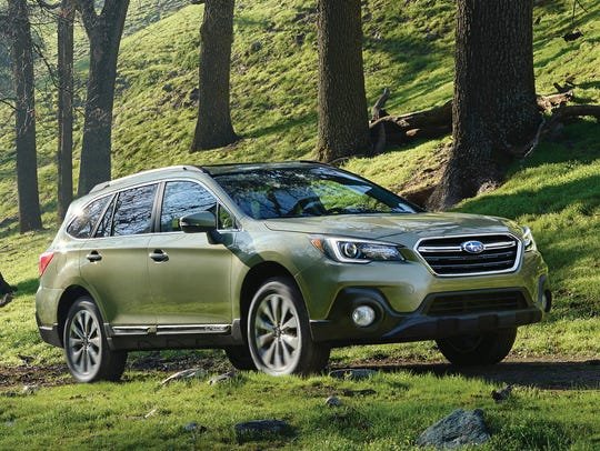 This photo provided by Subaru shows the 2018 Subaru