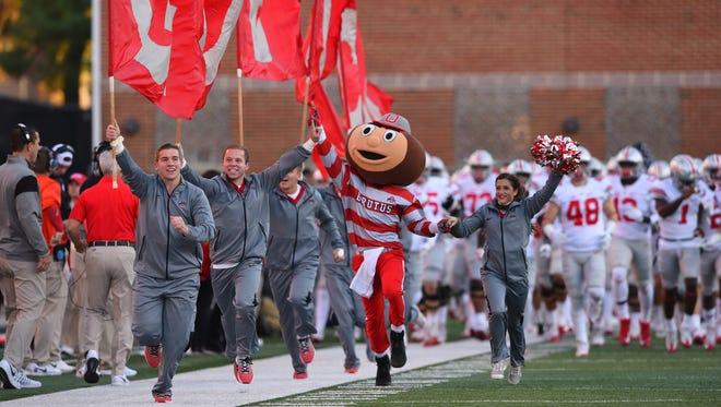 Brutus Buckeye!