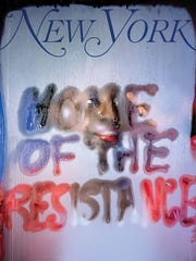 Marilyn Minter created this cover for the New York