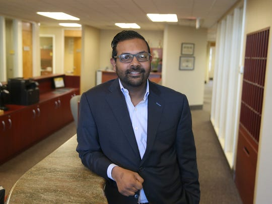 Jai Ramachandran, CEO, at Brighton Securities on Monroe Ave. in Brighton Friday, Feb. 3, 2017.