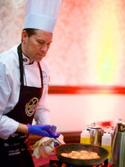 Brad Yearwood, culinary chef instructor at the Wayne Technical and Career Center in Williamson  and The New York Wine and Culinary Center in Canandaigua, will be among the chefs competing in Dish it Out, a fundraising gala for the National Center for Missing and Exploited Children (NCMEC).