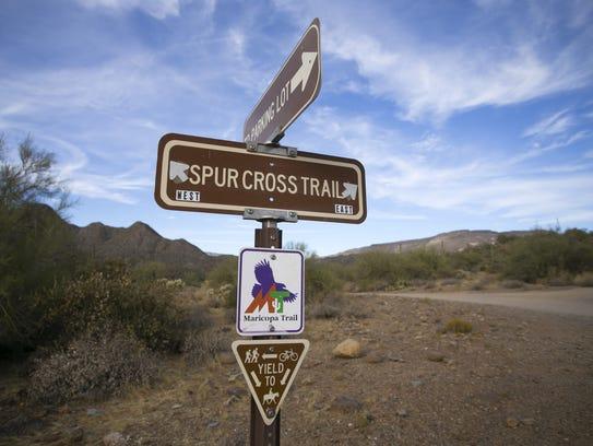 The Maricopa Trail runs through the Spur Cross Ranch