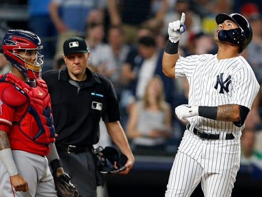 MLB: Los Angeles Angels at New York Yankees