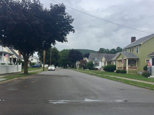 Portions of Thompson Street in Southport would receive sewer service if the neighborhood becomes part of the Chemung County Elmira Sewer District.