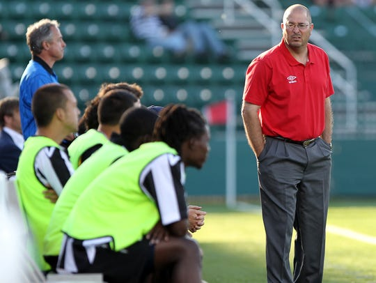 Coach Bob Lilley's Rhinos beat D.C. United 1-0 in the