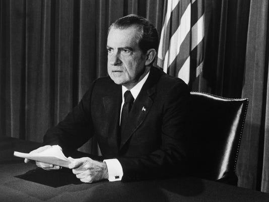 Nixon Announces Resignation