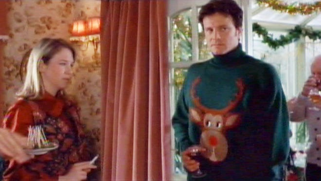 Colin Firth set the standard for appalling Christmas sweaters in  'Bridget Jones's Diary.'