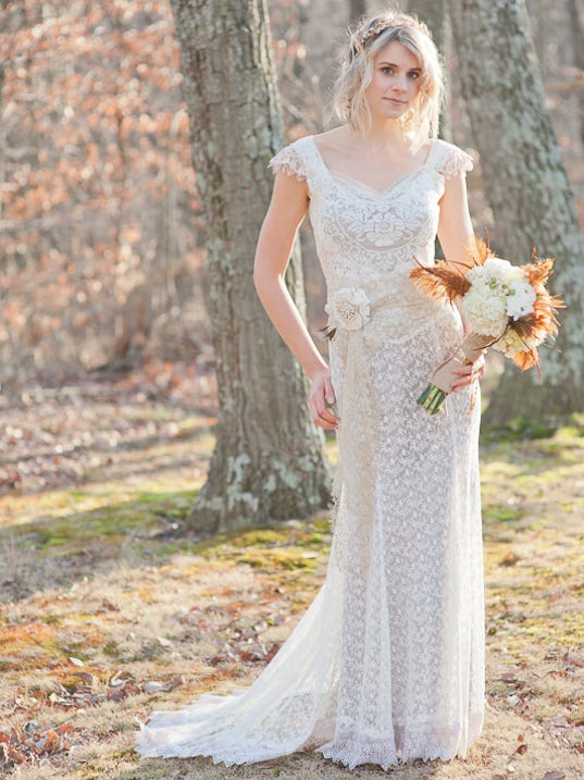 Q a with indianapolis wedding dress designer beth bennett for Local wedding dress designers