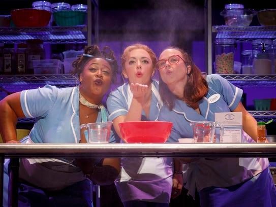 Charity Angel Dawson (left), Desi Oakley and Lenne