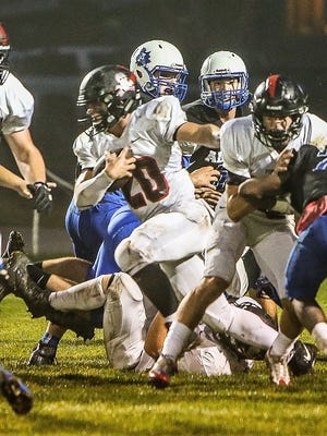 Pinckney's Levi Collins leads Livingston County in rushing and scoring.