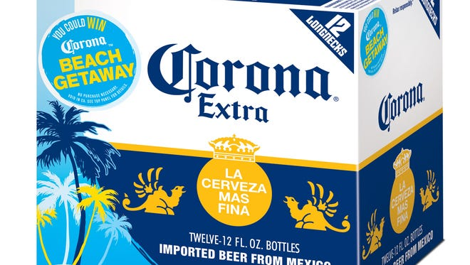 Select packages of Corona Extra are being recalled.