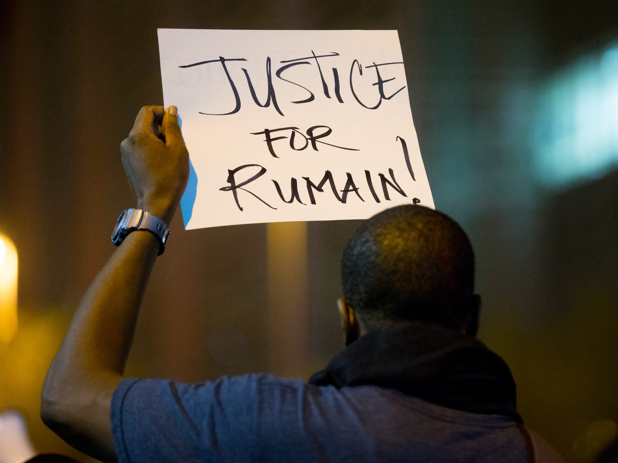 Rumain Brisbon's death sparked several nights of rallies