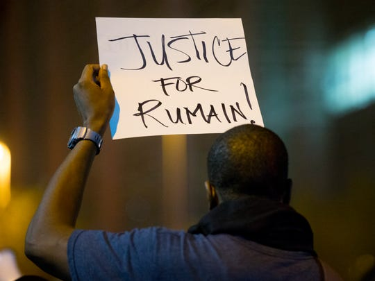 Rumain Brisbon's death sparked several nights of rallies protesting the Phoenix police killing.
