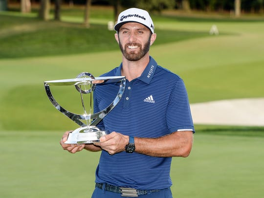 Week 42 — Dustin Johnson: The Northern Trust at Glen Oaks Club.